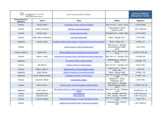 Accedi al Catalogo Bibliografico Trentino