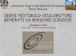 Segni vestibolo-oculomotori generati da manovre cliniche