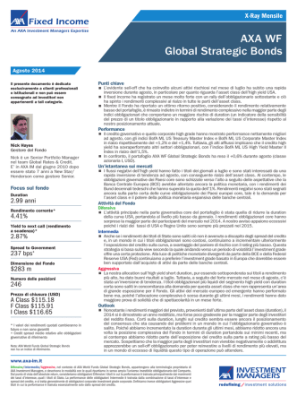 AXA WF Global Strategic Bonds - AXA IM IT