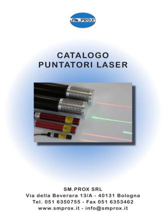 catalogo puntatori laser 2014-10