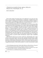 «Nequivisse membra huius aptius collocari» (Boccaccio