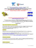 XI Trofeo CorrerePollino - Comitato Regionale Fidal Basilicata