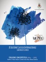 Libretto XI Stagione - Comune di Gravina di Catania