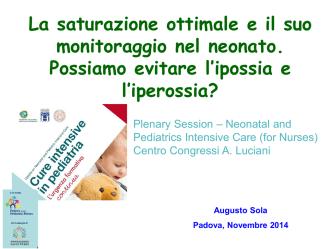 Augusto Sola (Dana Point) - Cure intensive in pediatria
