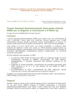 Traduzione in italiano - Associazione Italiana GIST