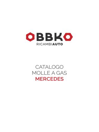 Catalogo MollE a gaS meRCeDeS