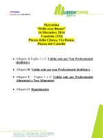 """Mercatino """"Delle cose Buone"""" 14 Dicembre 2014 Caselette (TO"""
