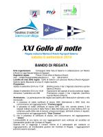 XXI Golfo di notte - Compagnia Della Vela Salerno