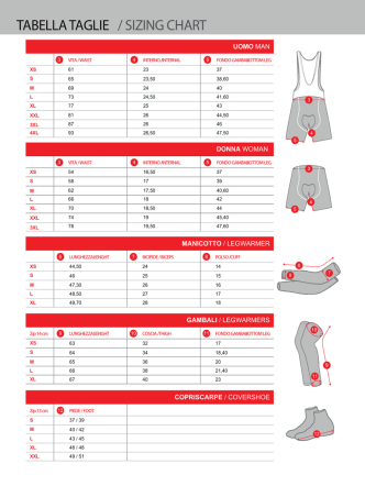 Biemme 2014 Size Chart file from Italy page 2