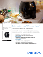 HD9240/90 Philips Airfryer XL con tecnologia Rapid Air