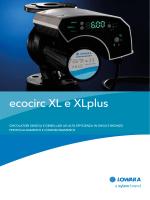 ecocirc XL e XLplus - Lowara ecocirc