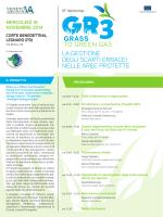 la gestione degli scarti erbacei nelle aree protette