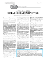 COPPA EUROPA CONTINENTALI - giornale della cinofilia