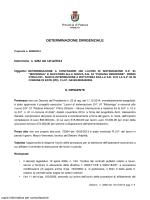 determinazione a contrarre dei lavori di sistemazione s.p. 91