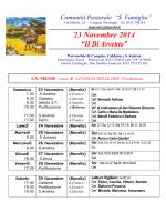 23 Novembre - Menta e Rosmarino