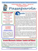 Passaparola 30 novembre 2014