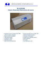 Generatori di ozono serie TPF-XT