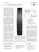 LYON™ : Diffusore lineare per Line Array DATASHEET
