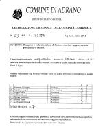 delgm.23 - Comune di Adrano