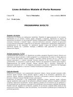 1E - Artistico Porta Romana Firenze