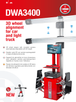 DWA3400 3D wheel alignment for car and light truck