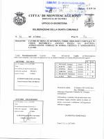 LAVORI DI MESSA IN SICUREZZA TORRE OROLOGIO COMUNALE.