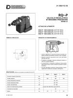 valvole regolatrici di massima pressione 21 300/112 id