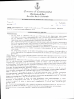 determina n.495 - Comune di Casamassima