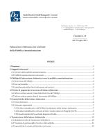 Fatturazione elettronica nei confronti della Pubblica Amministrazione