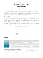 Hub-PA - Manuale utente