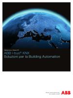 Brochure domotica ABB KNX