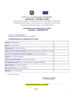 Documento classe V A Tecnico Chim. e Biol. - Sannino