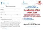CAMPODARSEGO CAMP 2014