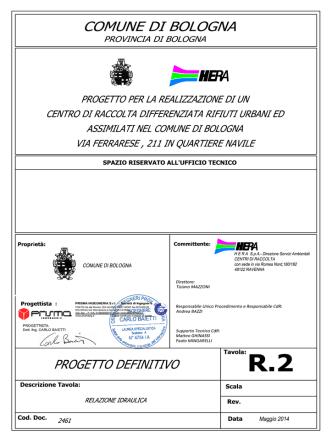 2461-All.R2 Relazione idraulica DEFINITIVO_maggio 2014