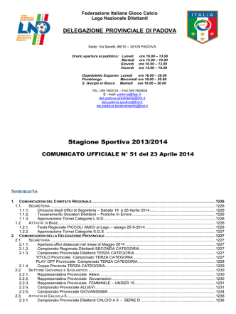 Com_N 51 - FIGC Veneto