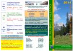 Scarica il programma escursionistico in PDF - cai