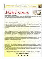 03. incontri dei fidanzati in preparazione al matrimonio nel 2014