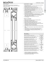 Caratteristiche • Features 07.2012/BK1-5B Schüco ASS 50 | Bb 1-3