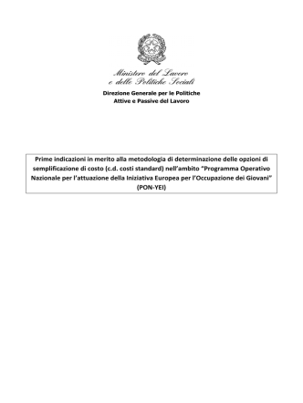 Allegato D.2.1 Prime indicazioni Metodologia UCS PON YEI_01-04