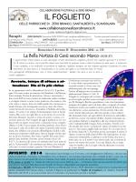30 novembre 2014 I domenica di Avvento n. 115