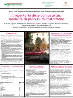 Il repertorio delle competenze - Agenzia sanitaria regionale Emilia