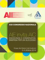 AIE invita AIC - Accademia Italiana Endodonzia