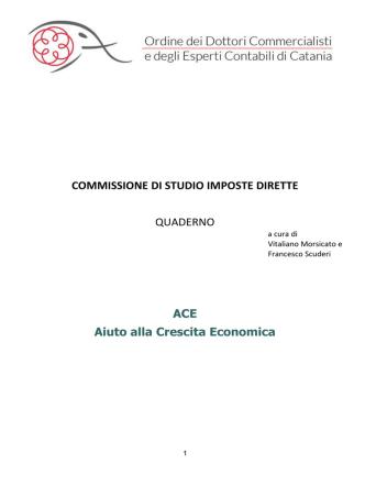 ACE aiuto alla crescita economica application/octet