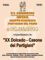 """XX Dolcedo - Casone dei Partigiani"""
