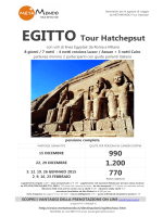 EGITTO Tour Hatchepsut - Metamondo Tour Operator