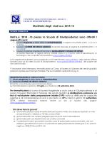 manifesto degli studi 2014-15