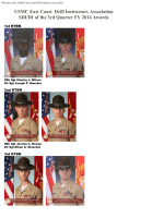 3rd Quarter - USMC East Coast Drill Instructors Association, Parris