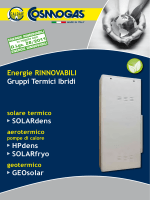 Energie RINNOVABILI Gruppi Termici Ibridi