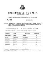 N. 436 - Comune di Formia