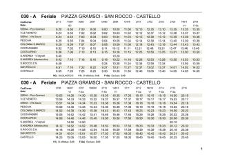 030 - A Feriale PIAZZA GRAMSCI - SAN ROCCO